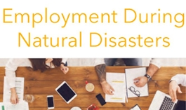 Employment During Natural Disasters